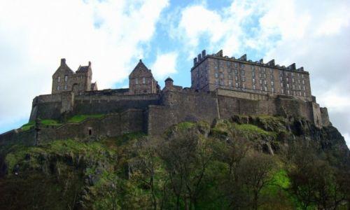 Zdjęcie SZKOCJA / Lothian / Edynburg / Edinburgh castle