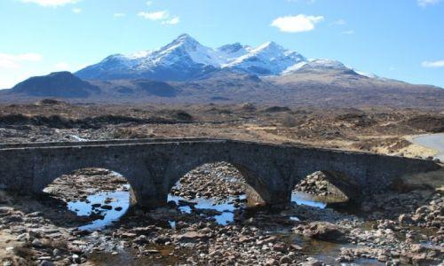 Zdjecie SZKOCJA / Isle of Skye / Płd część wyspy / Widoki na Skye