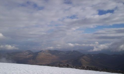 Zdjęcie SZKOCJA / Highlands / Highlands / Widok z Ben Nevis
