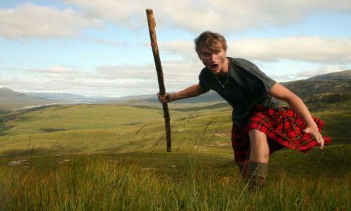 Zdjecie SZKOCJA / Glen Coe / Maell Ruigh a' Bhricleathaid / Highlander