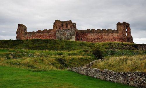 Zdjęcie SZKOCJA / East Lothian / Niedaleko od North Berwick / Tantallon Castle