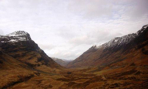 Zdjęcie SZKOCJA / Highlands / Glen Coe / Mroki Szkocji