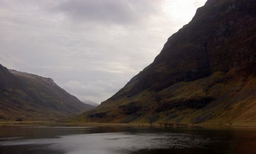 Zdjecie SZKOCJA / Highlands / Glen Coe / Mroki Szkocji