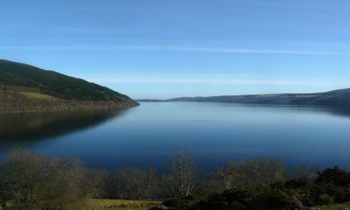 Zdjecie SZKOCJA / Loch Ness / Drumnadrochit / Gdzie ten łeb?
