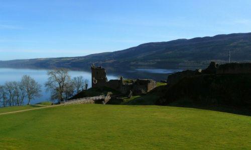Zdjecie SZKOCJA / Loch Ness / Urquhart Castle / Resztki smoczej warowni