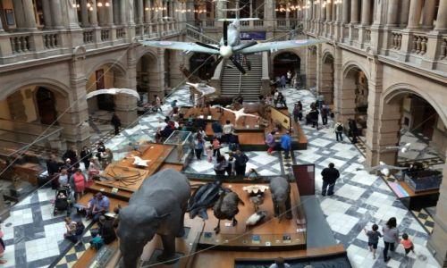 Zdj�cie SZKOCJA / Glasgow / Glasgow / ..w muzeum..