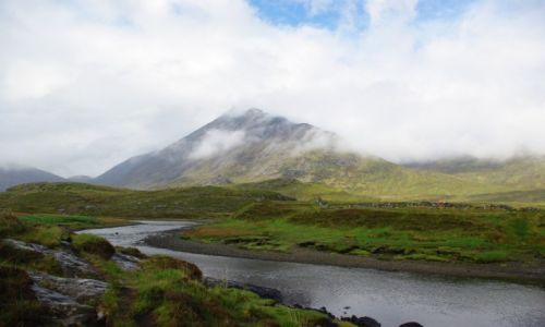 Zdjecie SZKOCJA / Isle of Skye / camasunary / Kraina mgieł