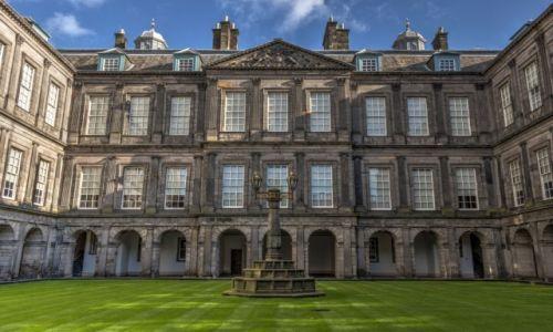 Zdjęcie SZKOCJA / - / Edynburg / Pałac Holyrood 2