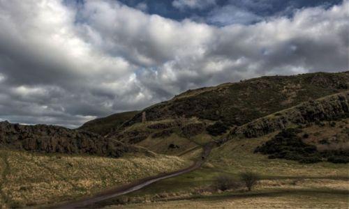 Zdjecie SZKOCJA / - / Edynburg / Na szlaku Arthur's Seat