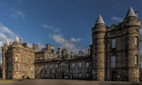 Zdjecie SZKOCJA / - / Edynburg / Pałac Holyrood