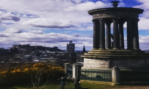 Zdjecie SZKOCJA / Edynburg / Carlton Hill / Carlton Hill