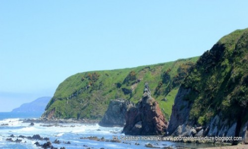 Zdjęcie SZKOCJA / Borders / Cove / gdzieś nad morzem