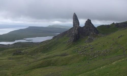Zdjęcie SZKOCJA / Hebrydy Wewnetrzne / Wyspa Skye / Old Man of Storr