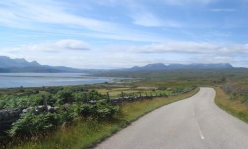 Zdjęcie SZKOCJA / Highland / szosa / Szkocja- po drodze