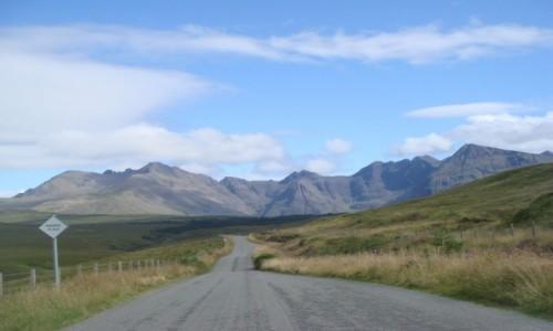 Zdjęcie SZKOCJA / Highland / SKYE / w drodze na szczyt SKYE