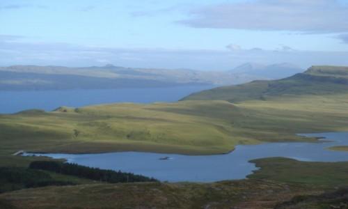 Zdjęcie SZKOCJA / Highland / SKYE / SKYE-krajobraz