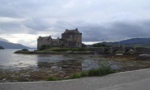 Zdjecie SZKOCJA / Highland / Highland / zamek-jeden z wielu...