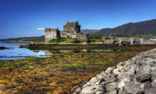 Zdjecie SZKOCJA /  Highland / Eilean Donan / Loch Duich, Eilean Donan Castle