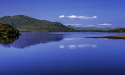 Zdjecie SZKOCJA /  Highland / Eilean Donan / Loch Duich