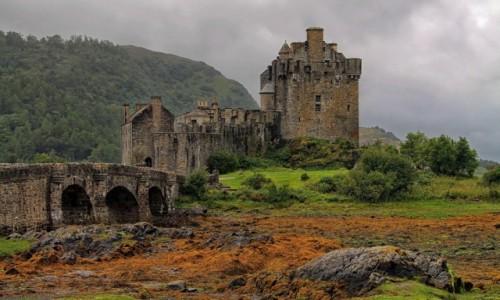 Zdjecie SZKOCJA / Highland / Eilean Donan / Szkocka twierdza