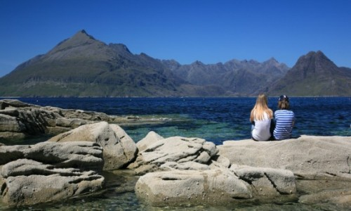 Zdjecie SZKOCJA / Isle of Sky / Elgol / Black Cuillin
