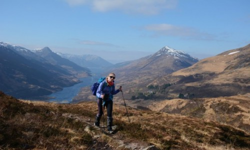 Zdjecie SZKOCJA / Highlands (Mamores) / Sgurr Eilde Mor / Dzika Szkocja