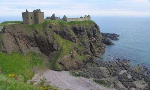 Zdjecie SZKOCJA / Aberdeenshire / Dunnottar Castle / ruiny