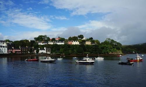 Zdjęcie SZKOCJA / Wyspa Skye / Portree / Port