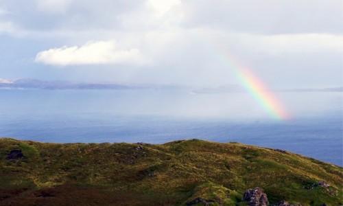 SZKOCJA / Wyspa Skye / Góry Quiraing / Kreska