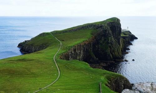 Zdjecie SZKOCJA / Wyspa Skye / Glendale / Neist Point