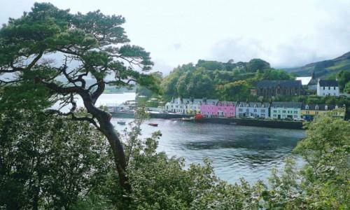 Zdjecie SZKOCJA / Hebrydy Wewnętrzne / Wyspa Skye / Portree