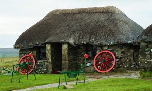 SZKOCJA / Wyspa Skye / Kilmuir / Muzeum życia na wyspie Skye