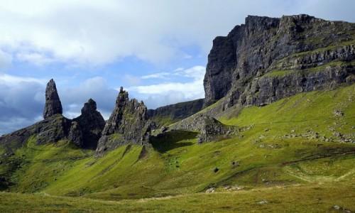 SZKOCJA / Hebrydy Wewnętrzne / Wyspa Skye / Wzgórze Storr