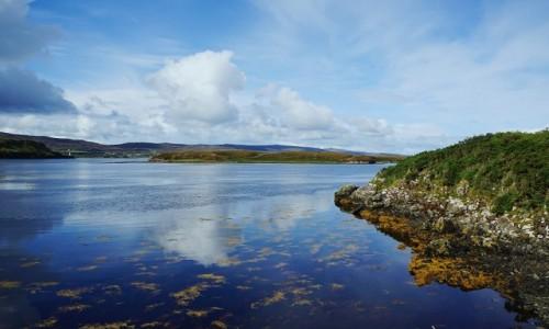 Zdjęcie SZKOCJA / Hebrydy Wewnętrzne / Wyspa Skye / Loch Dunvegan