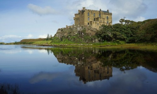 Zdjecie SZKOCJA / Wyspa Skye / Loch Dunvegan / Zamek