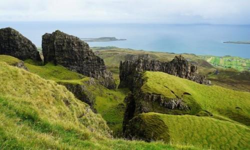 Zdjęcie SZKOCJA / Wyspa Skye / Góry Quiraing / Góry stołowe