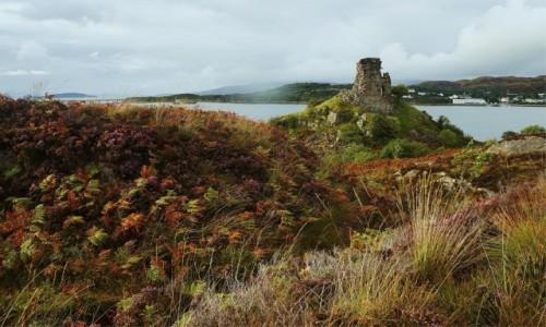 Zdjęcie SZKOCJA / Wyspa Skye / Kyleakin / Był sobie zamek