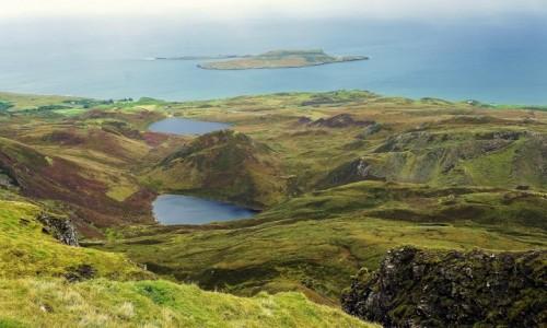Zdjecie SZKOCJA / Wyspa Skye / Góry Quiraing / Ze szlaku