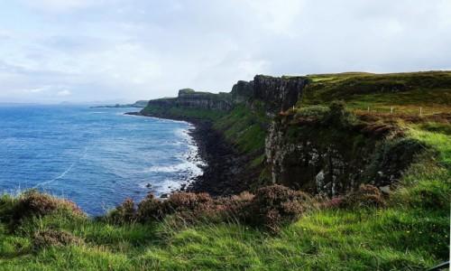 Zdjecie SZKOCJA / Wyspa Skye / Kilt Rock / Klif