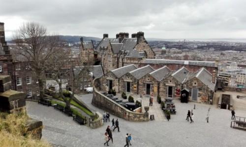 Zdjęcie SZKOCJA / - / Zamek w Edynburgu, Edynburg / Zamek w Edynburgu