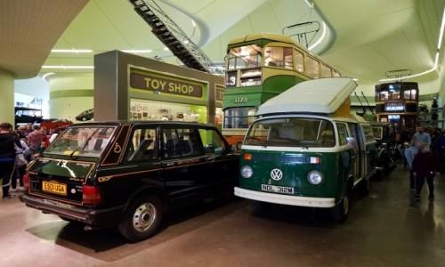 Zdjecie SZKOCJA / Glasgow / Riverside Museum / Eksponaty