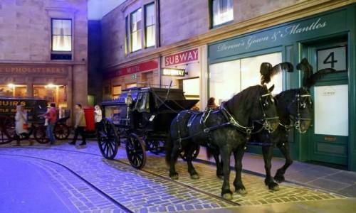 Zdjęcie SZKOCJA / Glasgow / Riverside Museum / Uliczka I