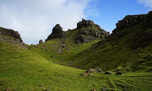 Zdjęcie SZKOCJA / Wyspa Skye / Wzgórze Storr  / Ścieżka