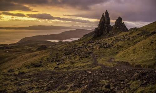 Zdjecie SZKOCJA / Wyspa Skye / Wyspa Skye / Old Mann of Storr