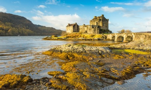 Zdjecie SZKOCJA / zachodnia Szkocja / zachodnia Szkocja / Eilean Donan