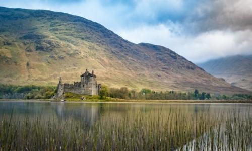 Zdjecie SZKOCJA / West Coast / Loch Awe, Dalmally / Kilchurn Castle