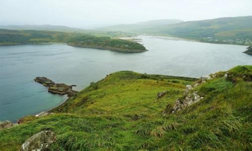 Zdjecie SZKOCJA / Wyspa Skye / Portree  / Deszczowe popołudnie