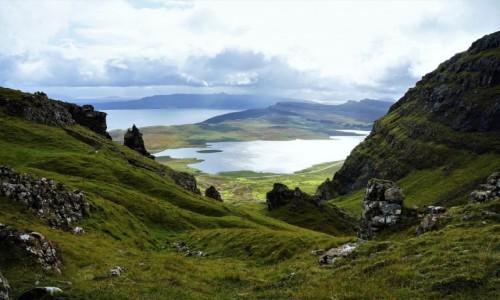 Zdjęcie SZKOCJA / Wyspa Skye /  Wzgórze Storr  / Krajobraz