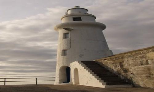 Zdjecie SZKOCJA / Północna Szkocja / Port w Macduff / Latarnia morska