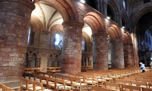 Zdjęcie SZKOCJA / Orkady / Kirkwall / Katedra św. Magnusa